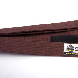 The Gi Hive BJJ Belt Brown