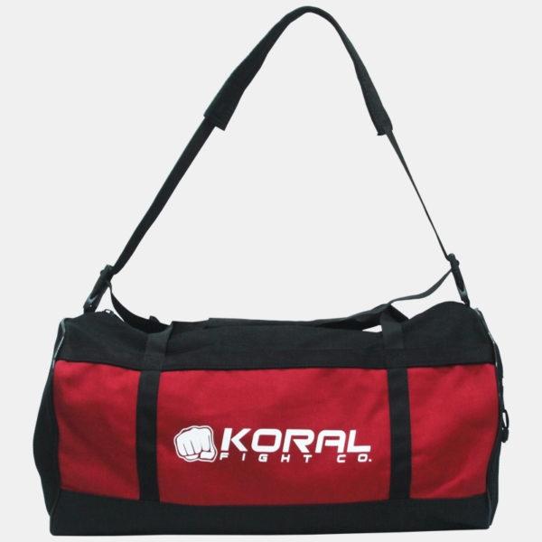 Koral Red Duffel Bag