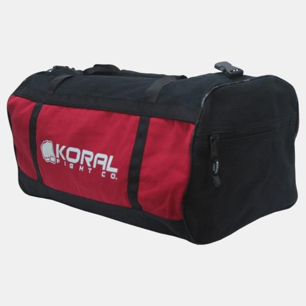 Koral Red Duffel Bag Gi Material